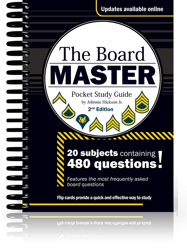 The Board Master – Pocket Study Guide, 2nd Edition
