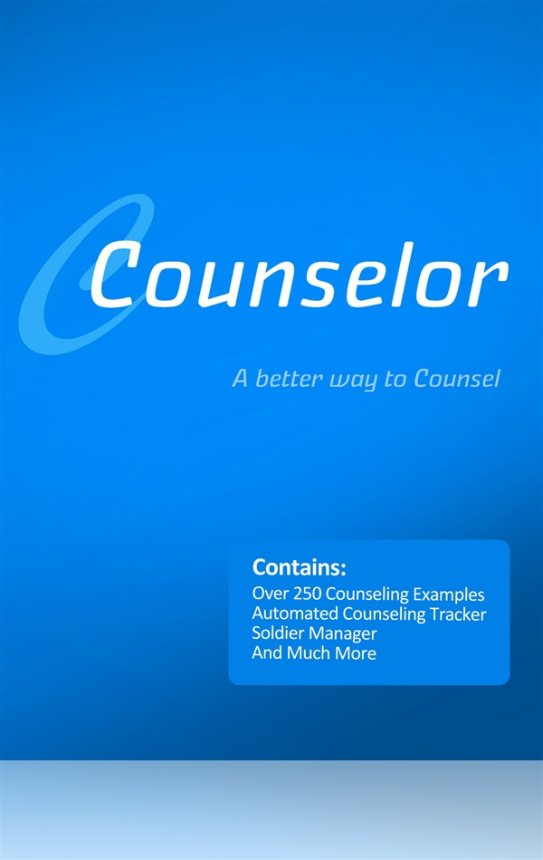 Counselor: Army Counseling Software, ACO (Windows)