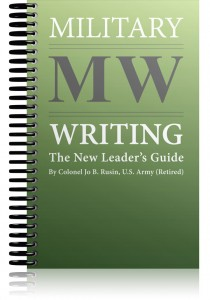 military-writing-the-new-leader's-guide